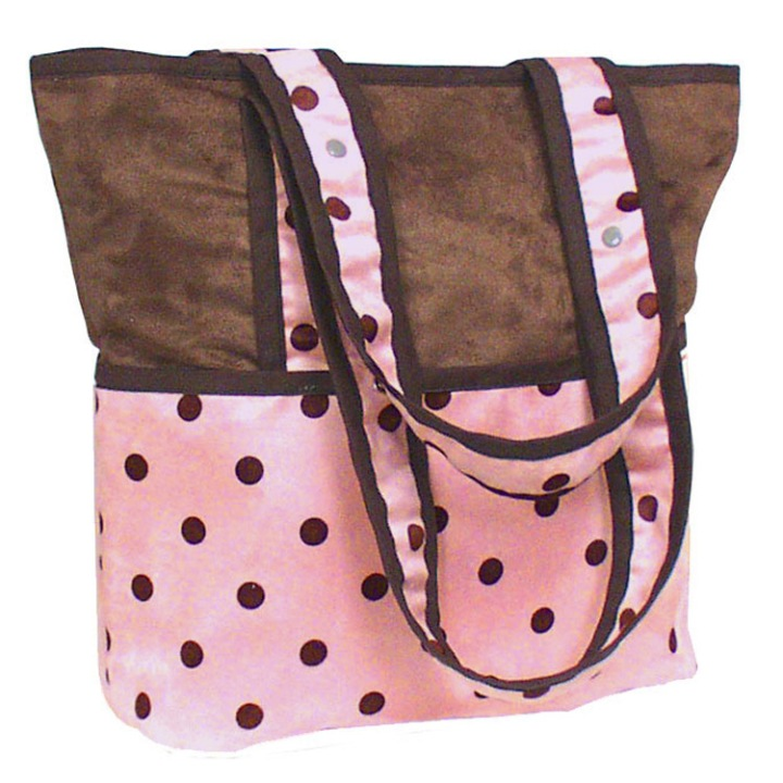 dotspink_tote