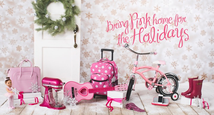 Bring Pink Home for the Holidays!