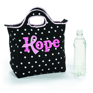 This cute little tote shows support and brings back the old school charm of packing your lunch!